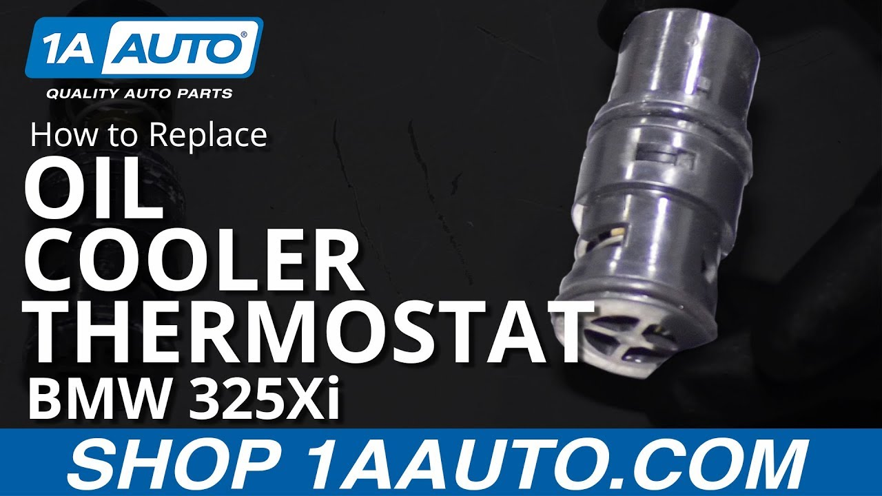 How to Replace Oil Cooler Thermostat 01-05 BMW 325Xi