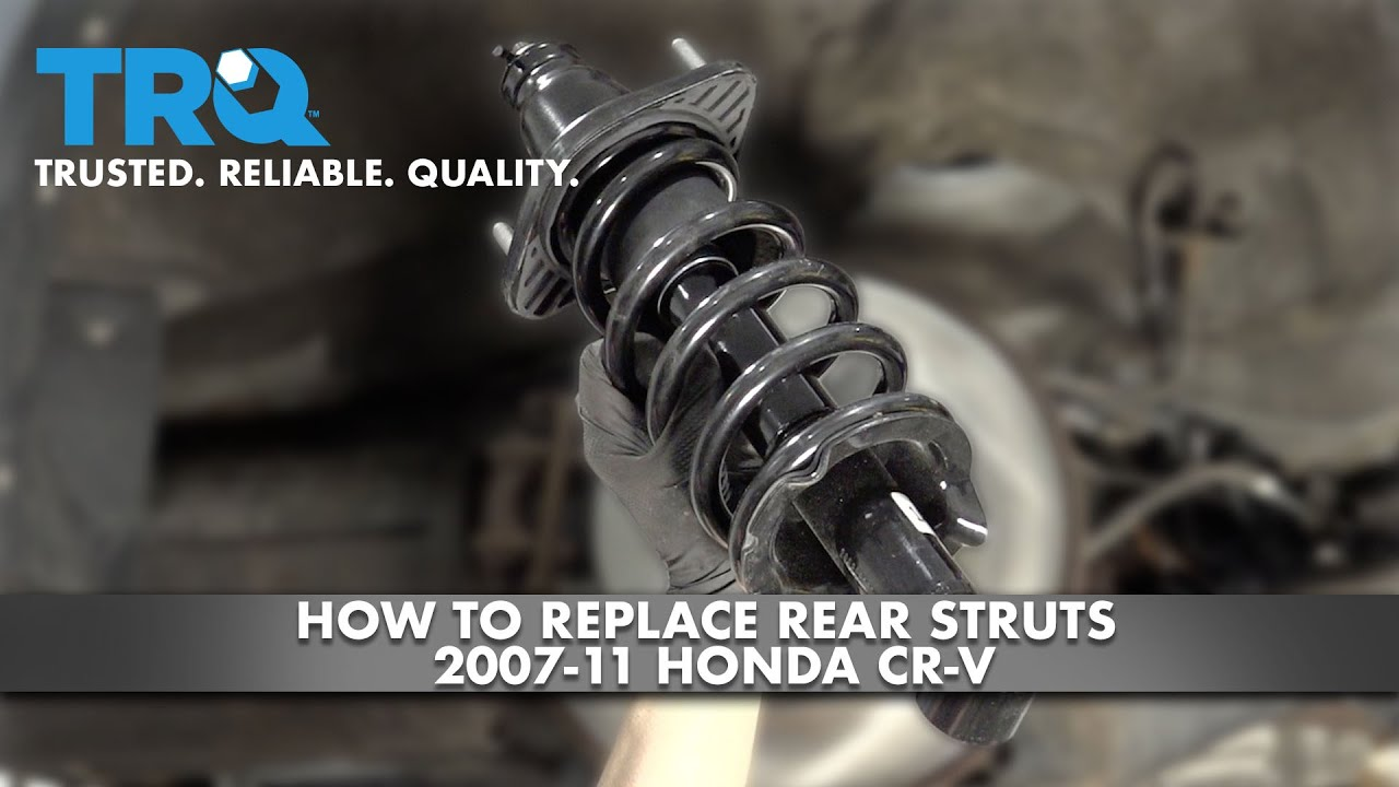 How To Replace Rear Struts 2007-11 Honda CR-V