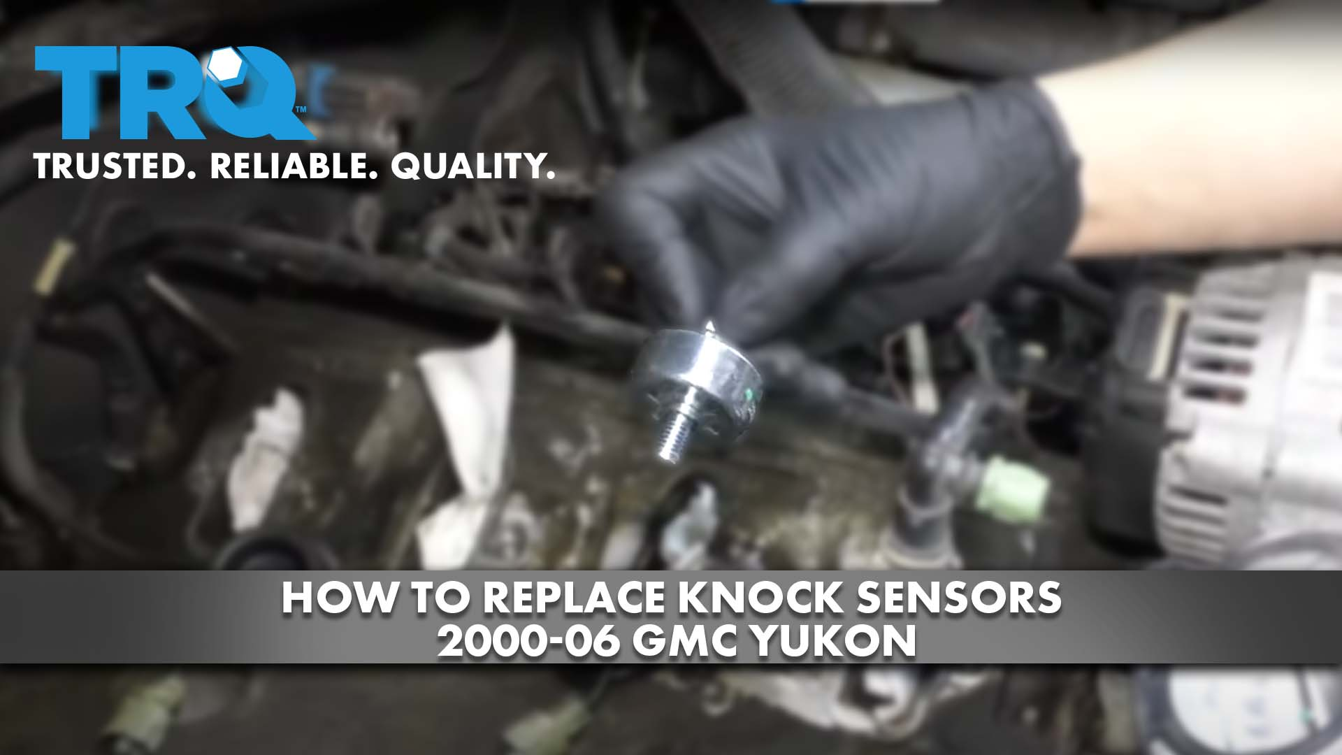 How to Replace Knock Sensors 2000-06 GMC Yukon