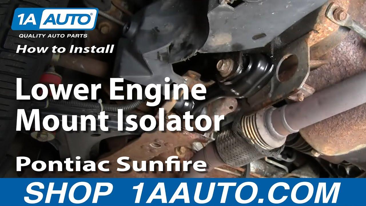 How to Replace Engine Mount 95-05 Pontiac Sunfire