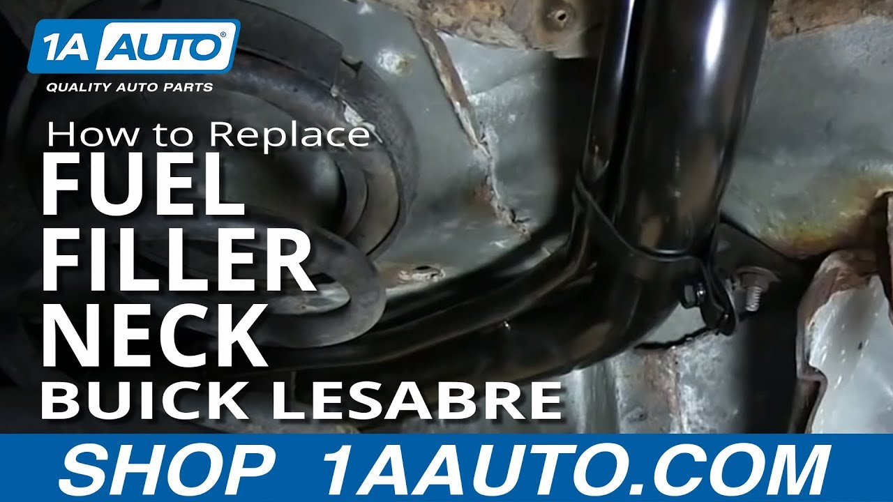 How to Replace Fuel Filler Neck 86-97 Buick LeSabre