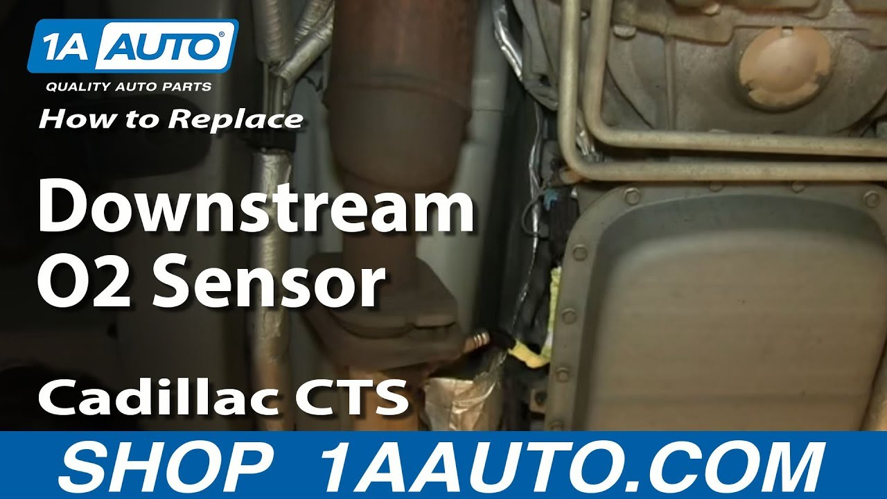 how to replace rear downstream oxygen o2 sensor 03