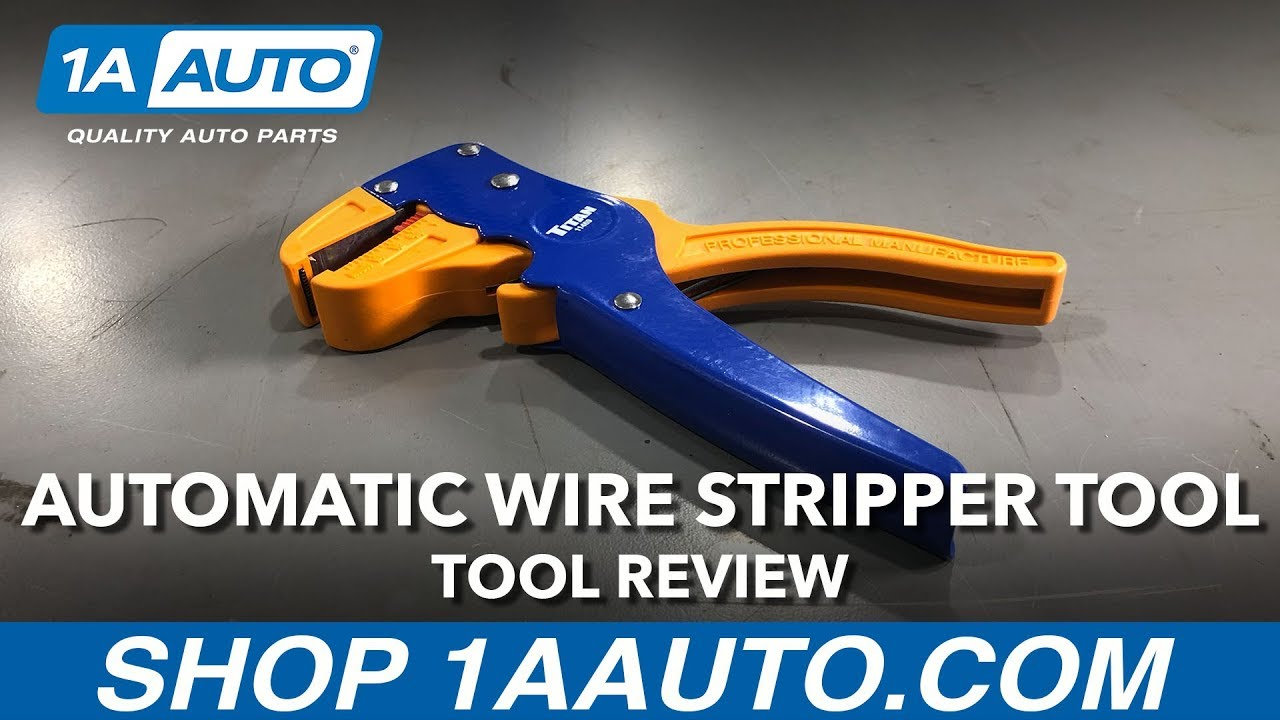 Adjustable Automatic Wire Stripper Tool - Available on 1aauto.com