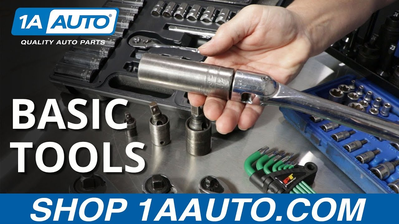 Basic Tools for Fixing Your Own Car
