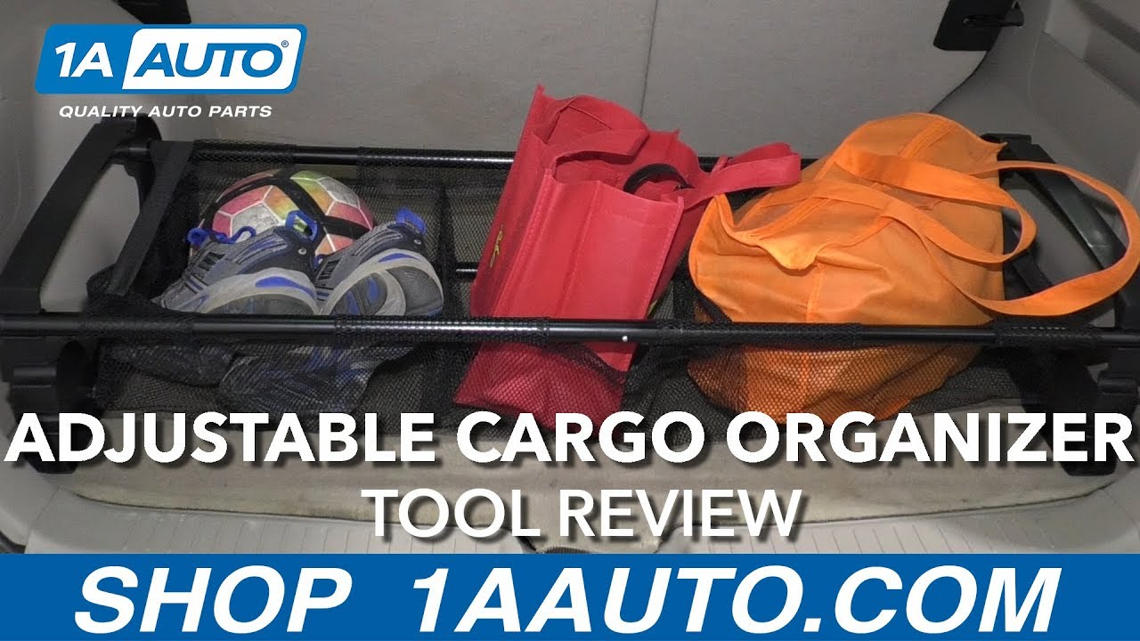 Go Gear Adjustable Cargo Organizer - Available at 1AAuto.com