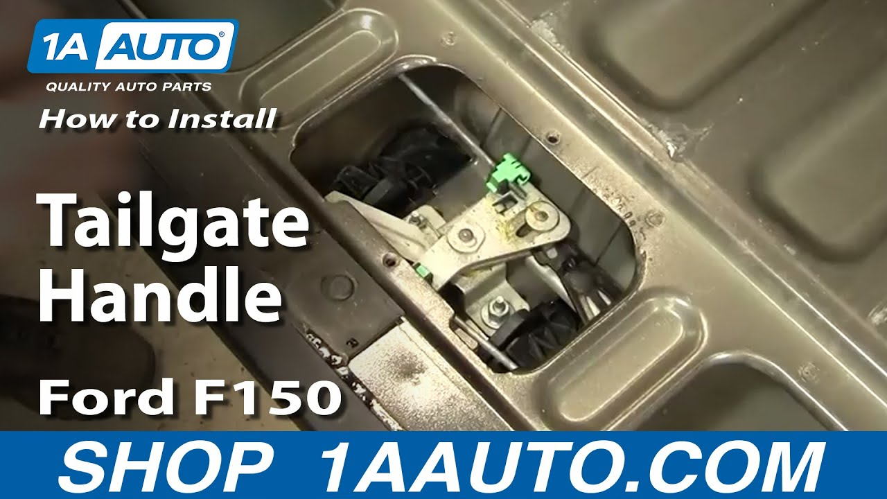 How To Replace Tailgate Handle 97-05 Ford F150
