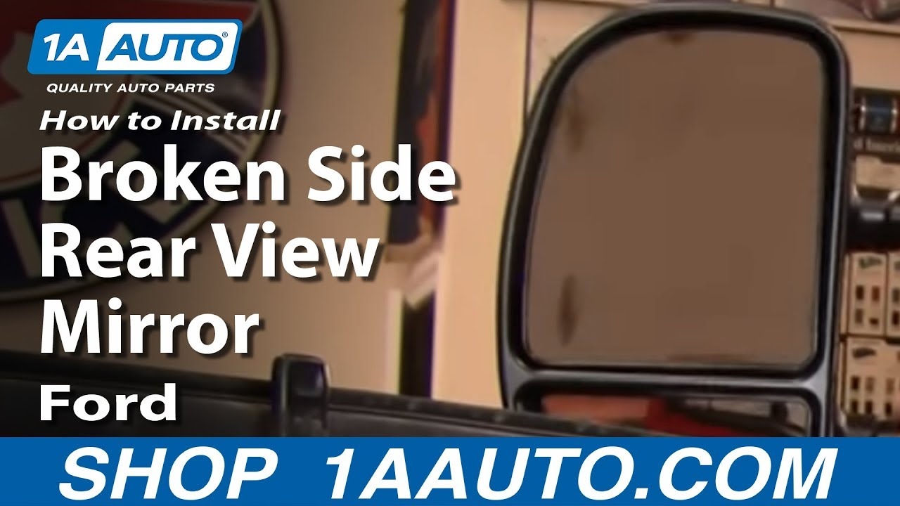 How to Replace Mirrors 99-04 Ford F250 Super Duty