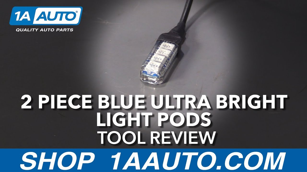 2 Piece Blue Ultra Bright Light Pods - Available at 1aauto.com