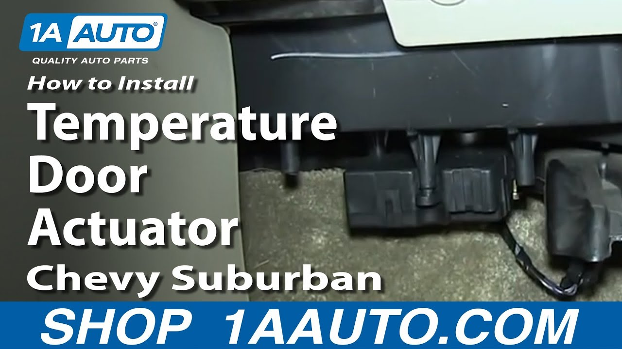 HVAC Air Door Actuator for Buick Cadillac Chevy GMC Olds Pickup SUV
