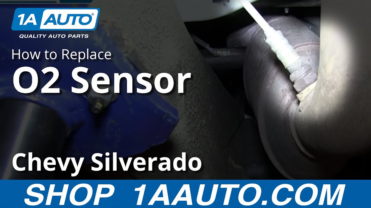 replace  sensor   chevy silverado  auto