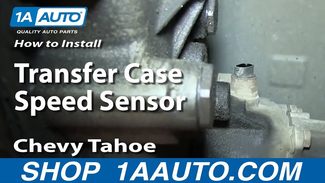 How To Replace Transfer Case Speed Sensor 95-99 Chevy Tahoe