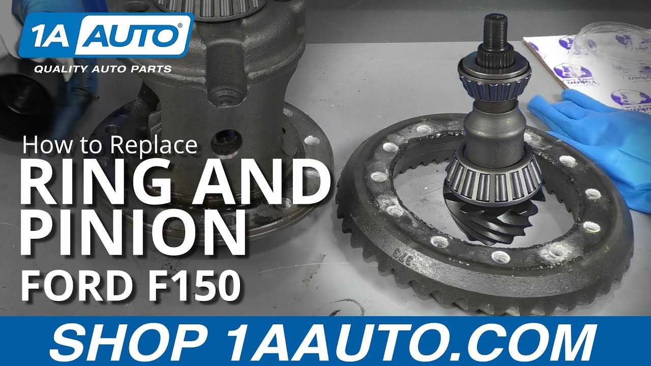 How to Replace Ring and Pinion 09-14 Ford F150