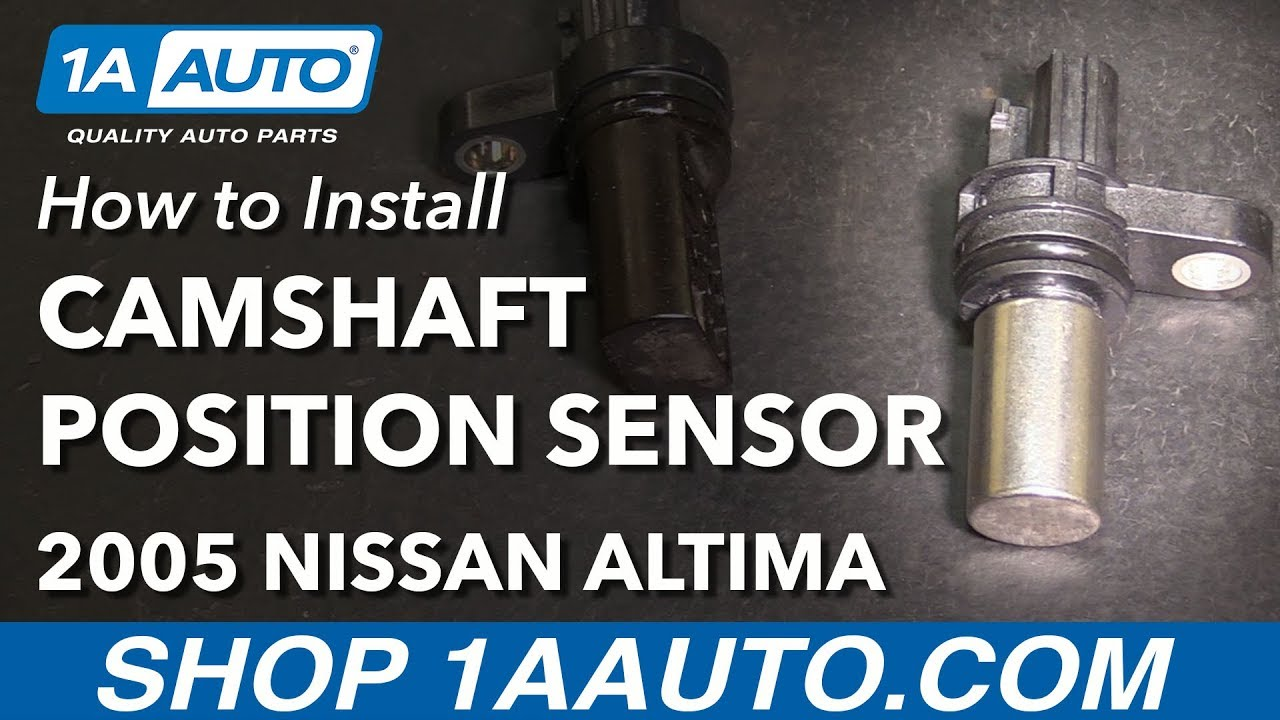 How to Replace Camshaft Angle Position Sensor 02-06 Nissan Altima L4 2.5L