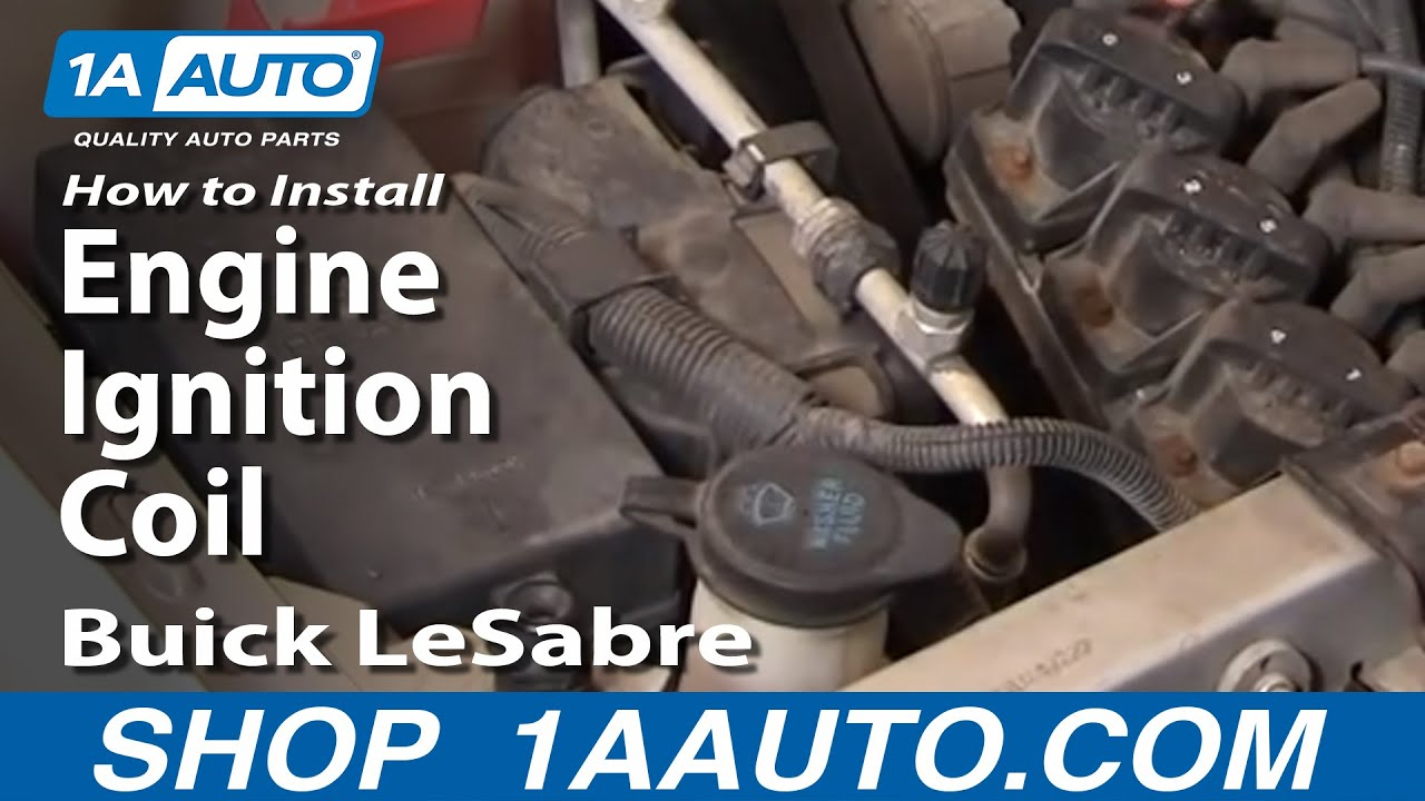 How To Replace Ignition Coil 00-05 Buick LeSabre