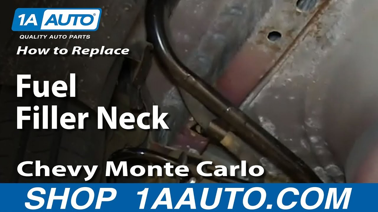 How to Replace Fuel Filler Neck 00-05 Chevy Monte Carlo