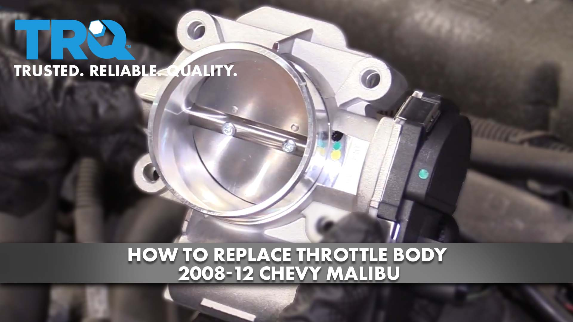 How to Replace Throttle Body 2004-07 Chevy Malibu