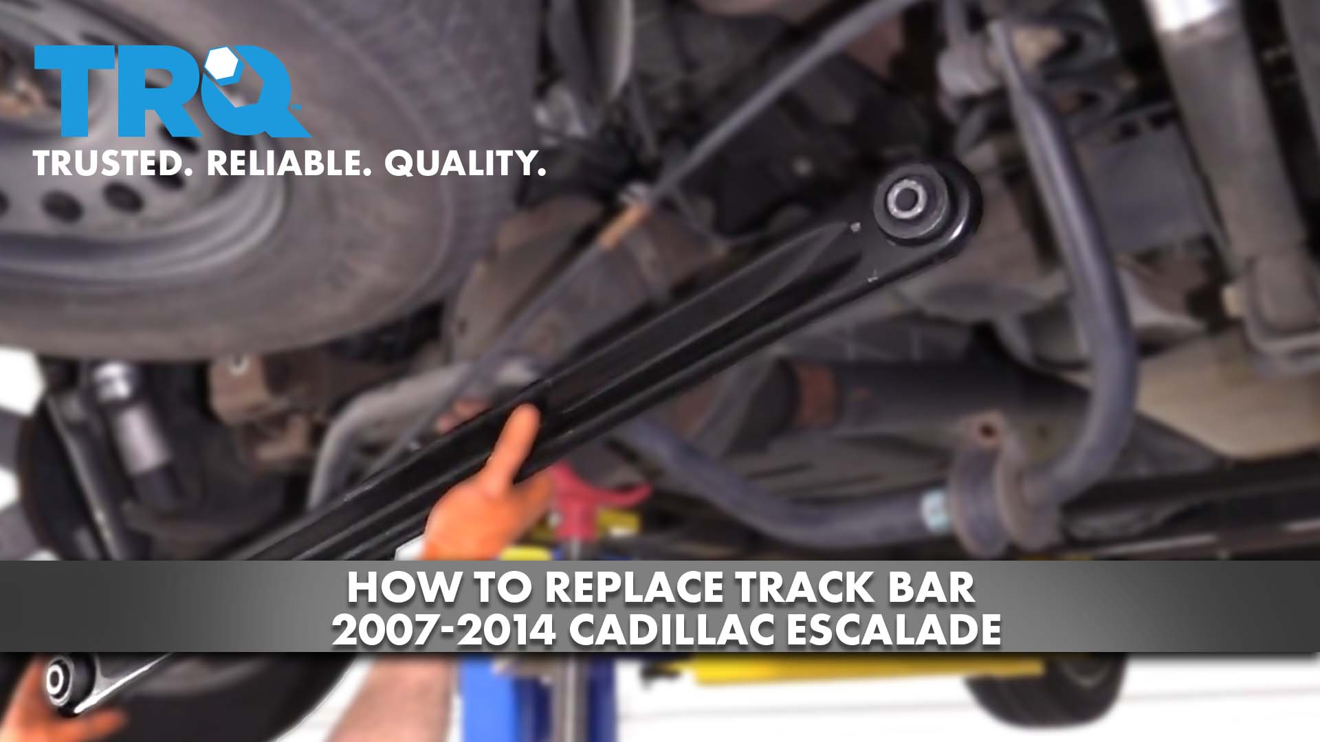How To Replace Track Bar 2007-14 Cadillac Escalade