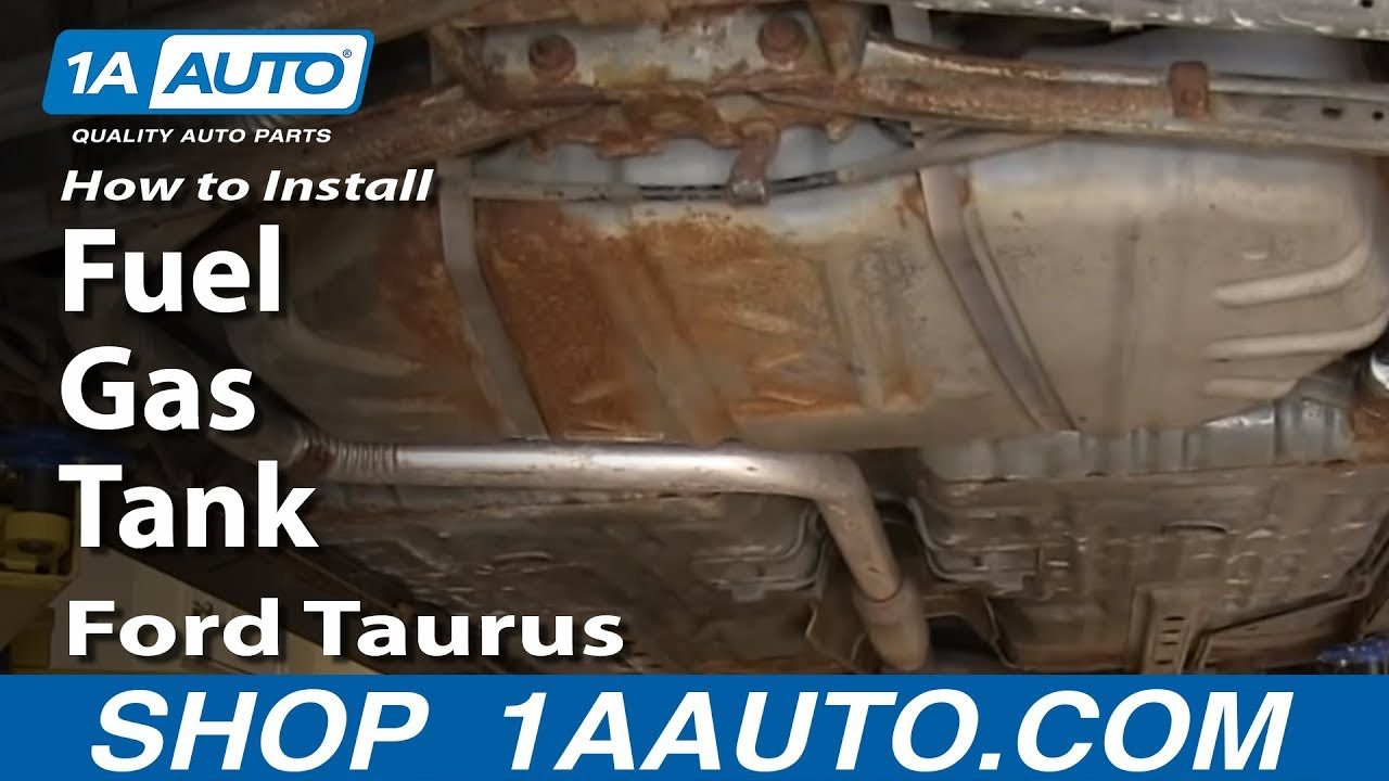 How To Replace Fuel Tank 00 05 Ford Taurus 1a Auto