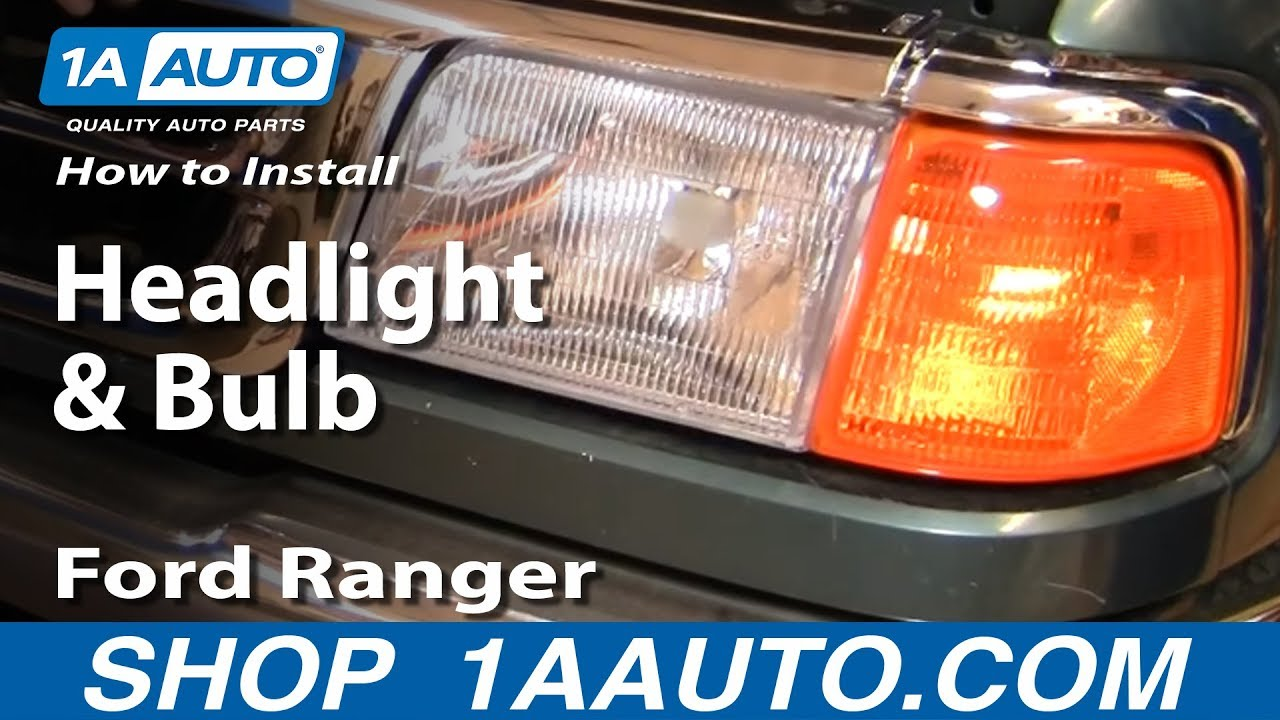How to Replace Headlights 93-97 Ford Ranger