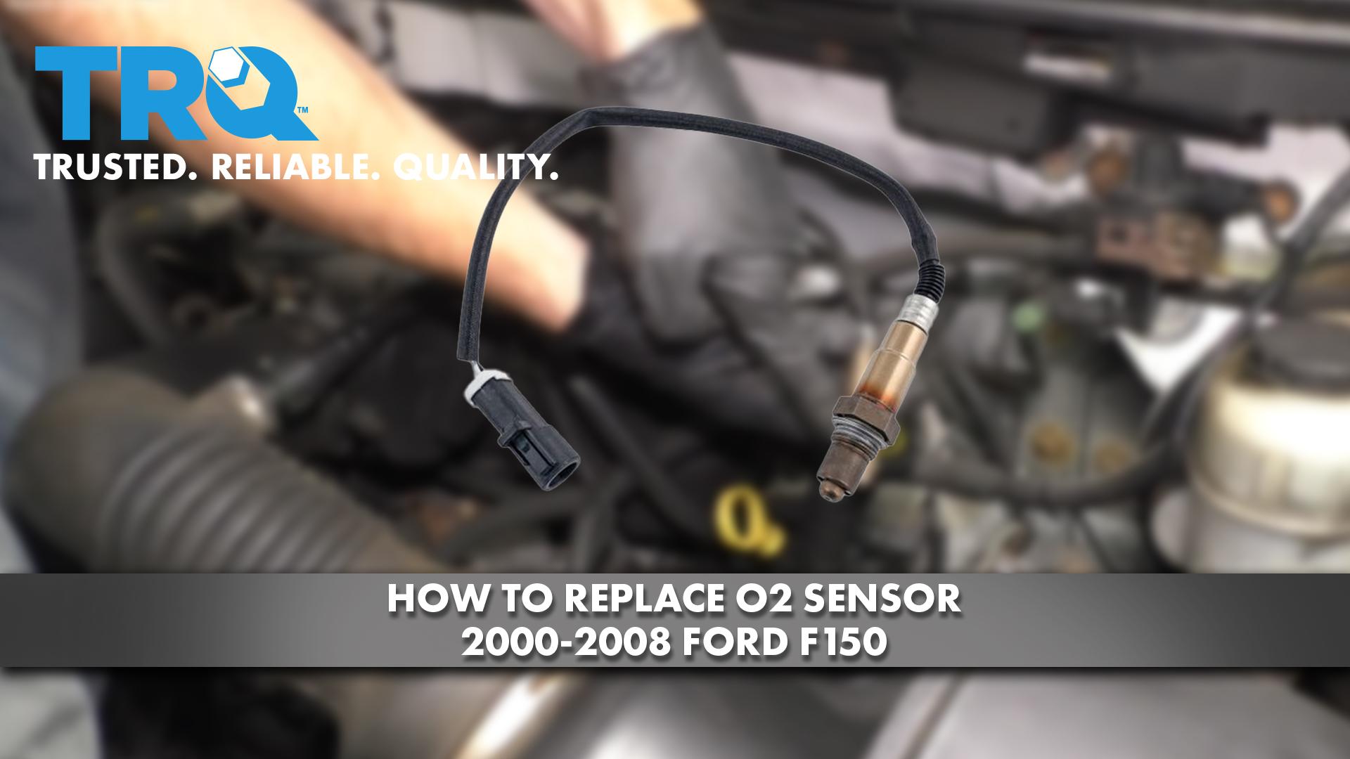 How to Replace Upstream O2 Sensor 2000-08 Ford F150