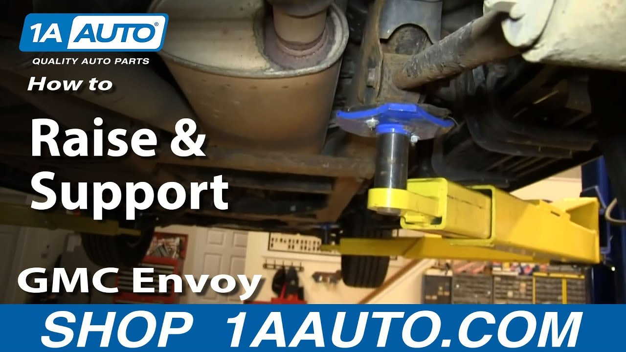 How To Raise Support 02 09 Gmc Envoy 1a Auto