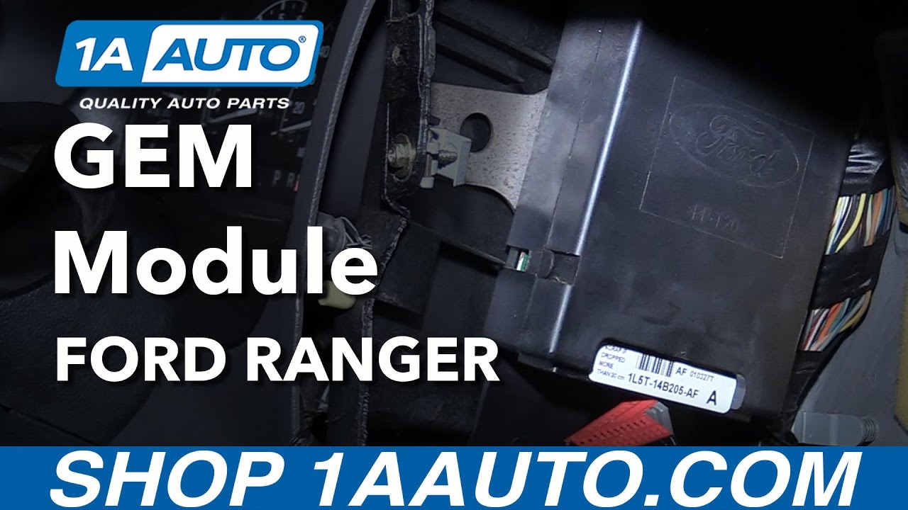 How to Replace GEM Module 98-12 Ford Ranger