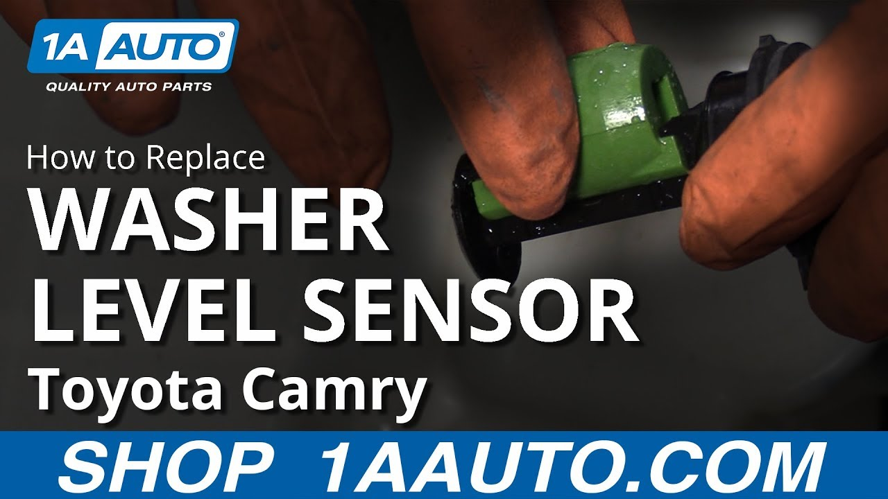 How to Replace Washer Fluid Level Sensor 11-17 Toyota Camry