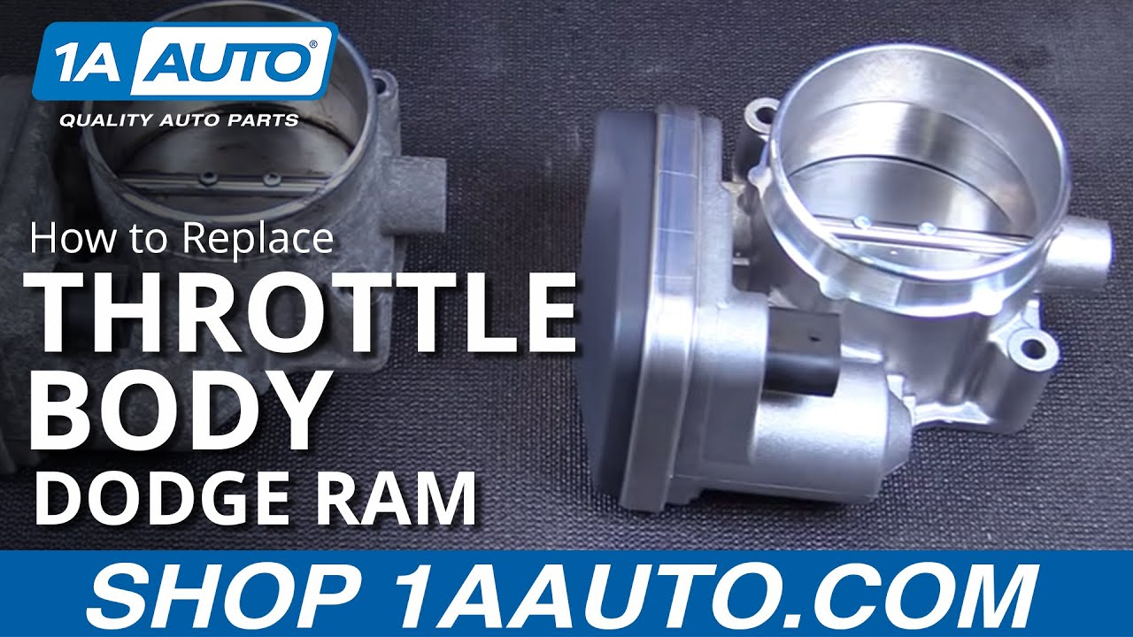 How to Replace Throttle Body Assembly 05-10 Dodge Ram