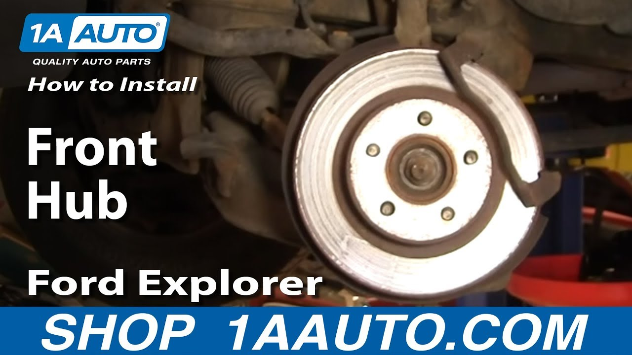 How to Replace Wheel Bearing & Hub Assembly 95-01 Ford Explorer