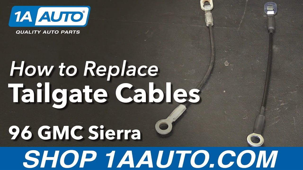 How to Replace Tailgate Cables 88-99 GMC Sierra K1500