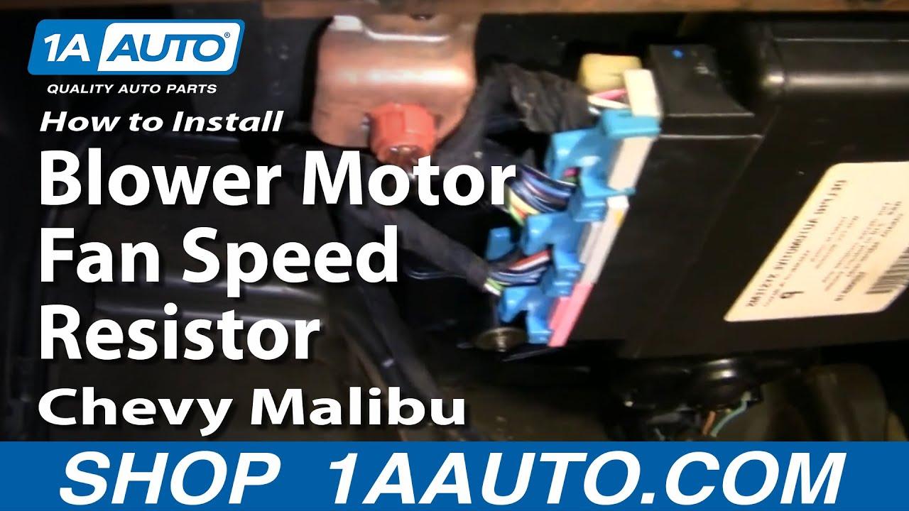Blower Motor Resistor Control Module 2006 On Ford F150 Blower Motor