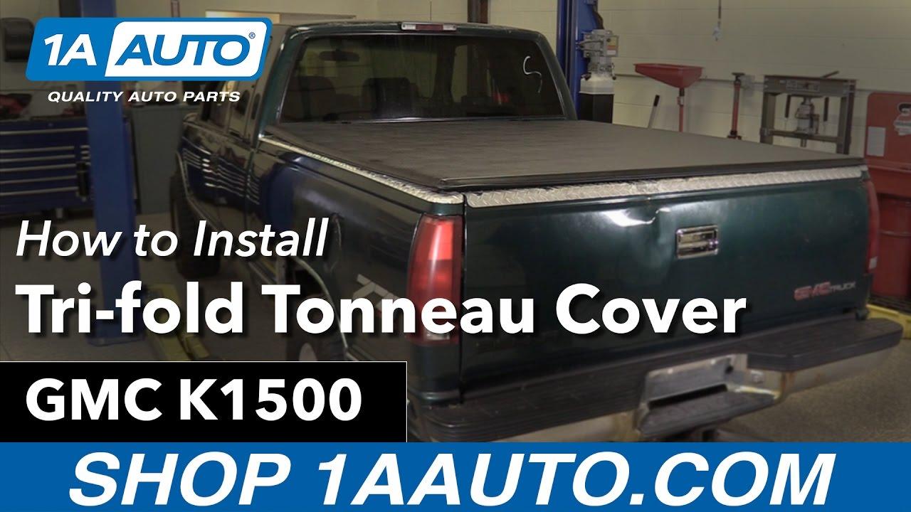 How to Install Tri-fold Tonneau Cover 88-99 GMC K1500