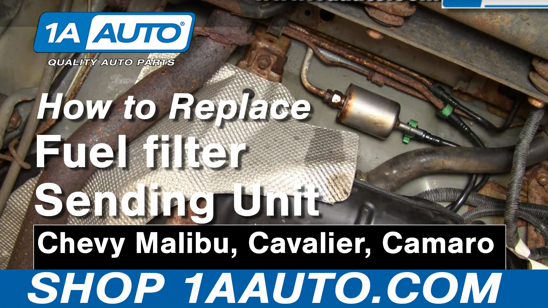 How to Replace Fuel Filter 97-03 Chevy Malibu | 1A Auto1A Auto
