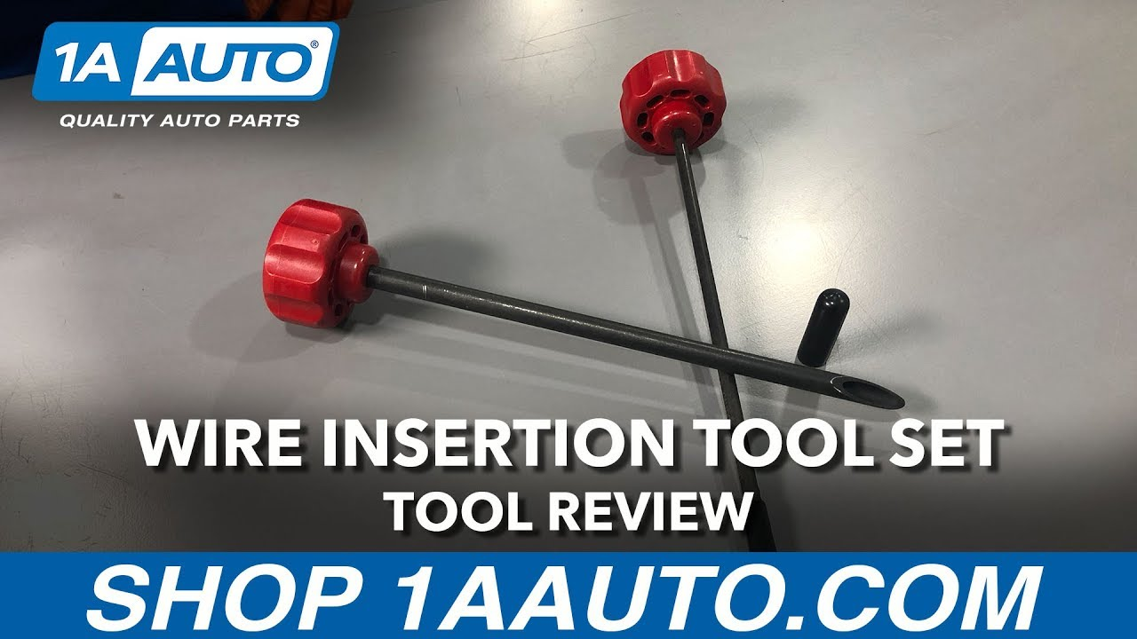 Wire Insertion Tool Set - Available on 1aauto.com