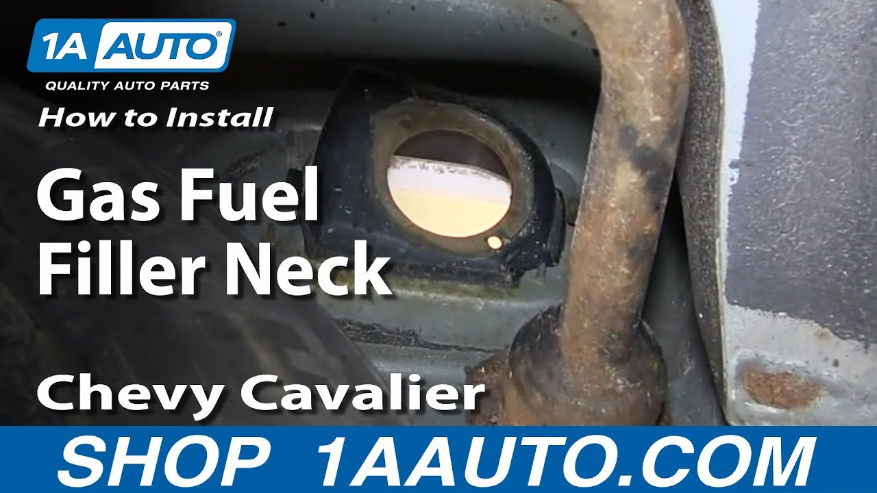 How To Install Replace Rusted Gas Fuel Filler Neck 1999-05 Chevy Cavalier Pontiac Sunfire