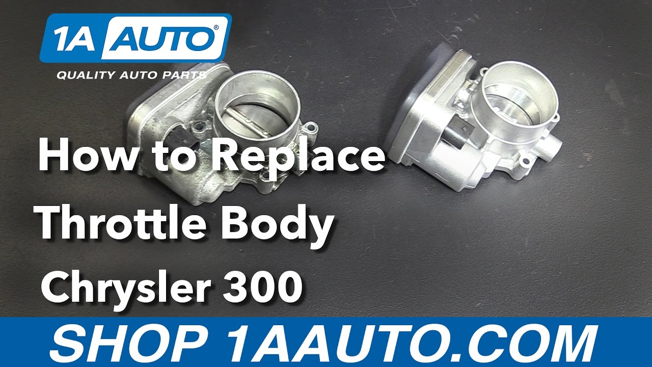 How to Replace Throttle Body 05-10 Chrysler 300