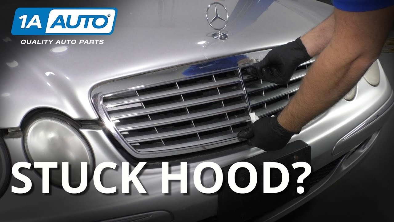 Stuck Hood? How to Get it Open and Correct it