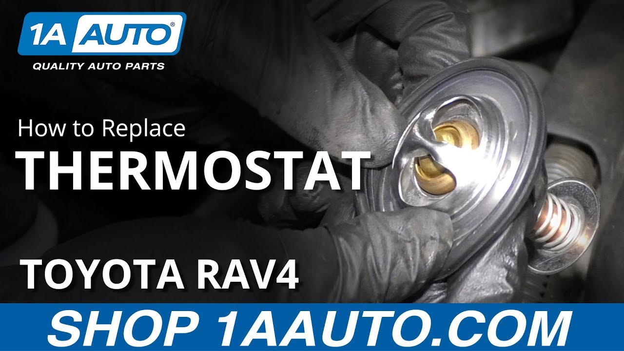 How to Replace Thermostat 05-16 Toyota RAV4
