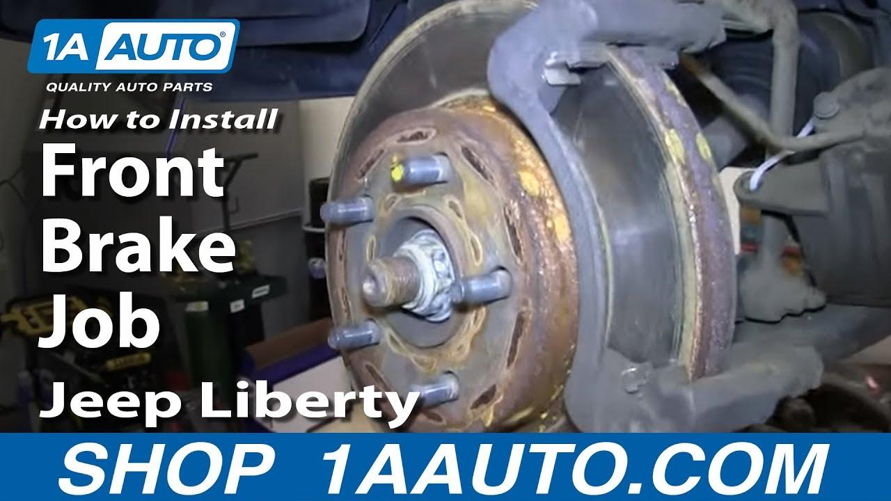 2008 2009 2010 for Jeep Liberty Brake Rotors and Ceramic Pads Rear