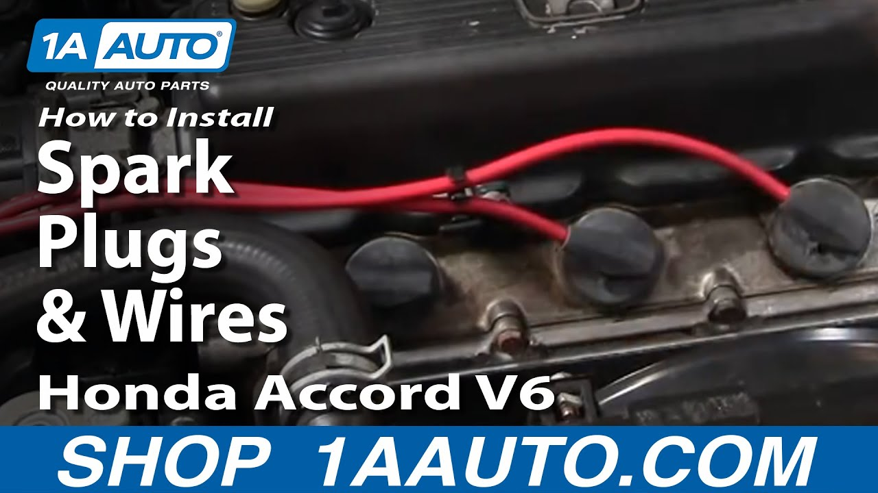 How to Replace Spark Plug Wire Set 95-97 Honda Accord