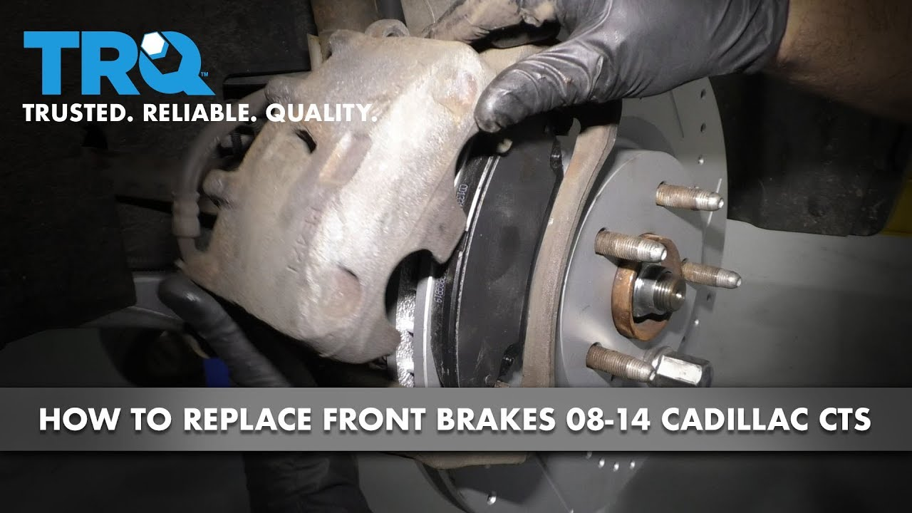 How to Replace Front Brakes 08-14 Cadillac CTS
