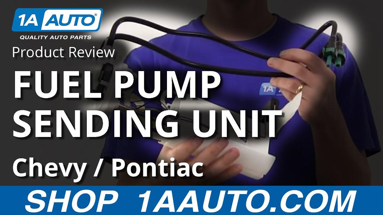 1AFPU01100 Cavalier Classic Malibu Grand Am Alero Sunfire Fuel Pump Sending Unit Module
