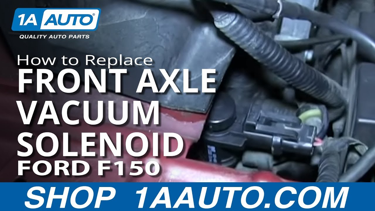 How To Replace Front Axle Vacuum Solenoid 05-13 Ford F-150
