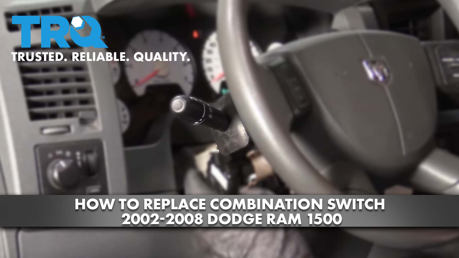 How to Replace Combination Switch 2002-08 Dodge RAM 1500