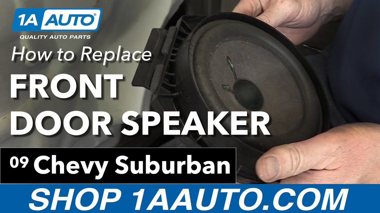How to Replace Front Door Speakers 07-13 Chevy Suburban