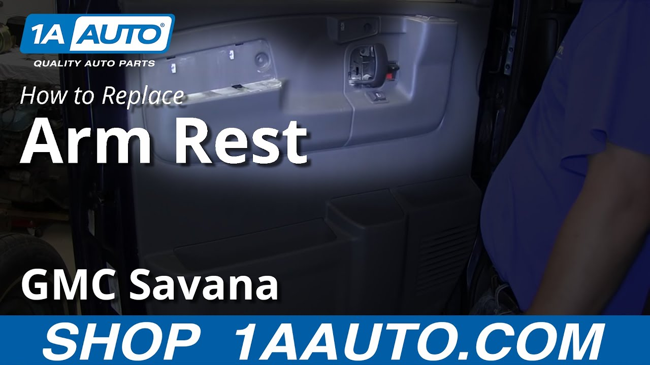 How To Replace Door Armrest GMC Savana
