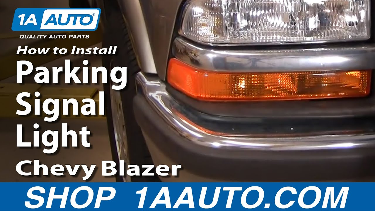 How to Replace Parking Light 98-05 Chevy Blazer S10
