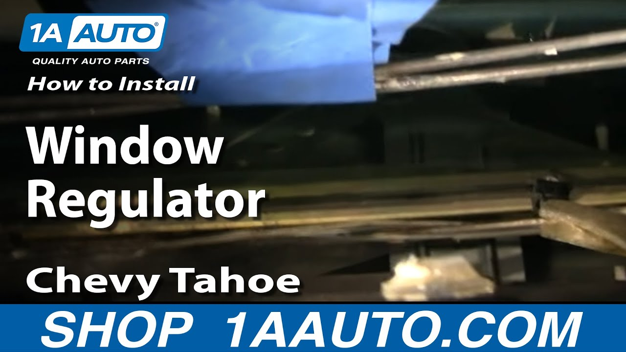 How to Replace Window Regulator 95-00 Chevy Tahoe | 1A Auto Gm Window Regulator Diagram on gm starter diagram, gm headlight switch diagram, gm brake shoes diagram, gm fan clutch diagram, gm power brake booster diagram, gm horn diagram, gm steering column diagram, gm alternator diagram, gm ignition module diagram, gm seat motor diagram, gm engine diagram, gm transmission diagram, gm distributor diagram, gm speaker diagram, gm fuel line diagram, gm neutral safety switch diagram, gm fuse box diagram, gm brake proportioning valve diagram, gm relay diagram, gm carburetor diagram,