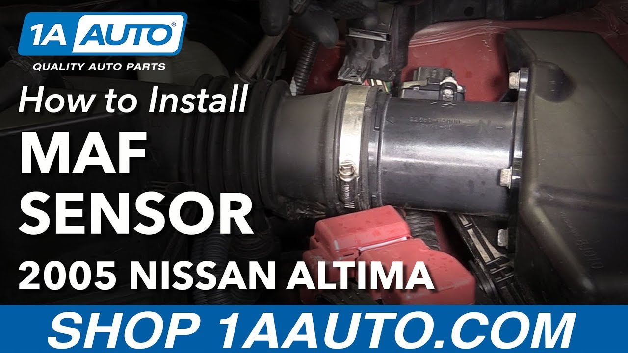 How to Replace MAF Sensor and Housing 04-06 Nissan Altima