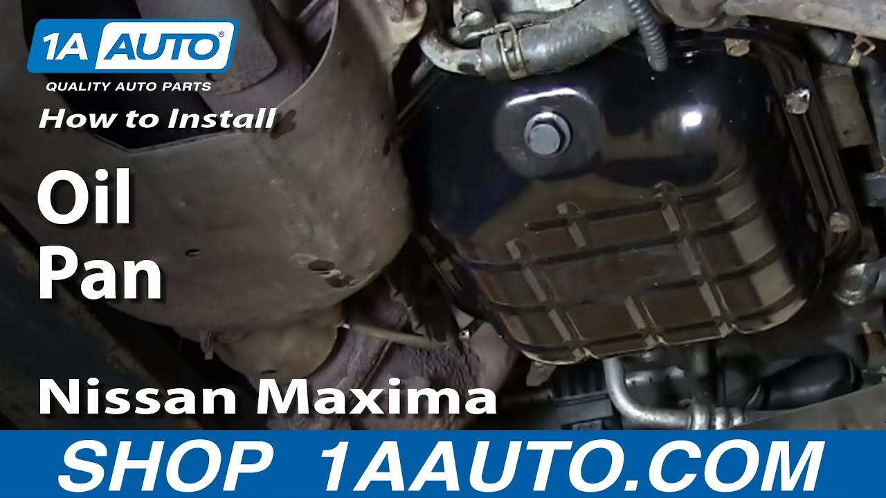 How to Replace Engine Oil Pan 02-06 Nissan Altima